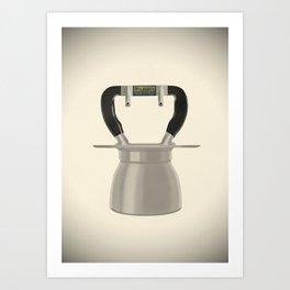 Irmel Nova Express, 4 cups. Vintage Italian coffee maker. Art Print