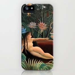 Henri Rousseau The Dream iPhone Case