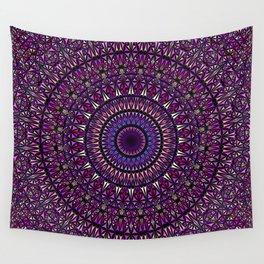 Pretty Particle Pattern Mandala Wall Tapestry