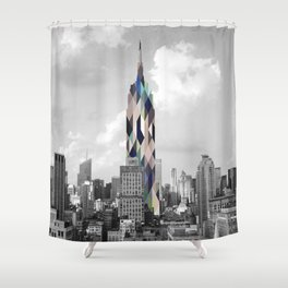 the graphic Empire Shower Curtain