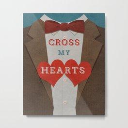 Doctor Who - Cross my Hearts Metal Print