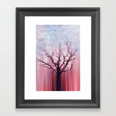AUTUMN LIGHTS Framed Art Print