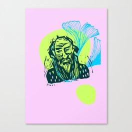 Mr. Dostoevsky Canvas Print