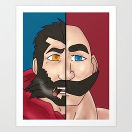 Graves X Braum Art Print