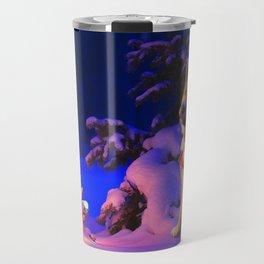 Shiba Inu Chistmas Tree Travel Mug