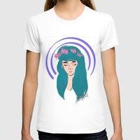 halo T-shirts featuring halo girl by Amina Soneviseth