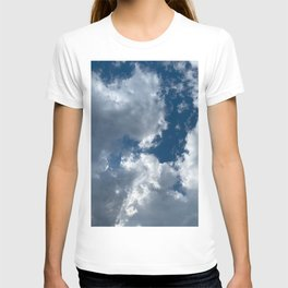 Bright sky before the storm T-shirt