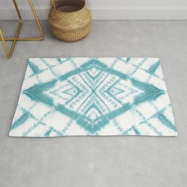 Dye Diamond Sea Salt Rug