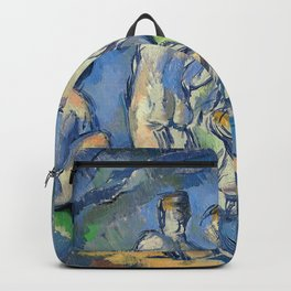 Paul Cezanne Seven Bathers Backpack