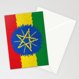 Flag of Ethiopia - Extruded Stationery Cards