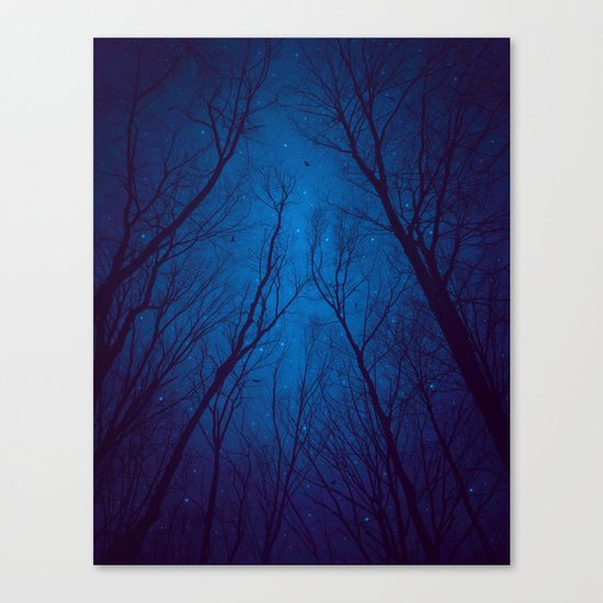 I Have Loved the Stars too Fondly Canvas Print