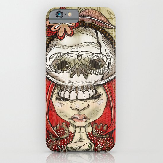 i wear my lucky skull iPhone & iPod Case