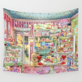 The Little Cake Shop Wall Tapestry