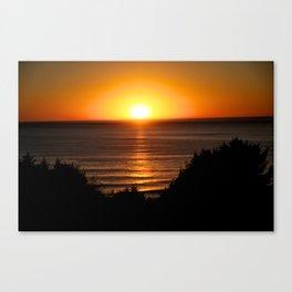 Sunset Ecola State Park, Oregon Canvas Print