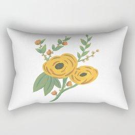SPRING VINTAGE FLORAL Rectangular Pillow