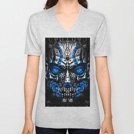 Mystic Djinn Mask Unisex V-Neck