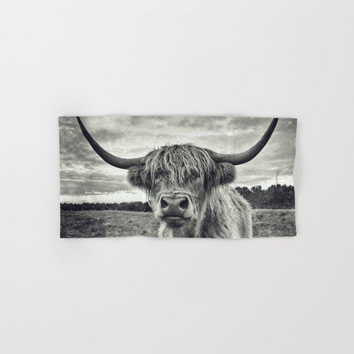 Highland Cow II Hand & Bath Towel