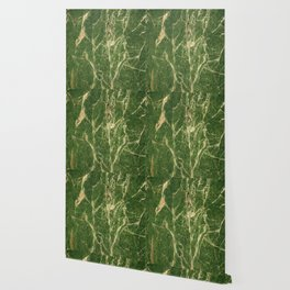 Green abstract grunge marble Wallpaper