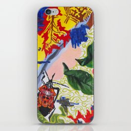 Red Beetle iPhone Skin
