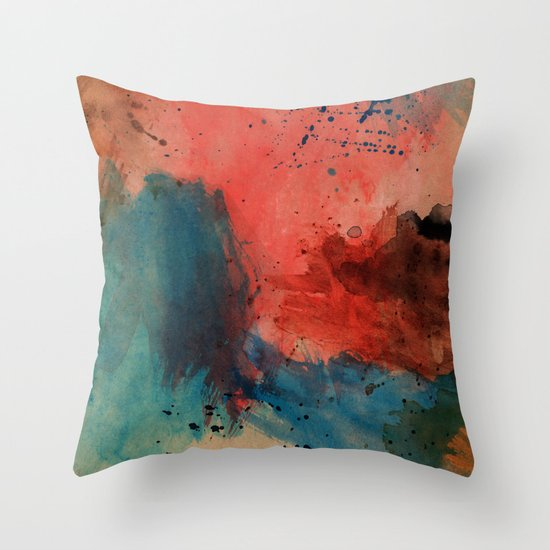 Attack in Surfers Paradise Throw Pillow