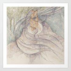 Fox [[ 4 ]] Art Print