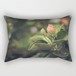 Capullo de Hibisco - Hibiscus bud Rectangular Pillow