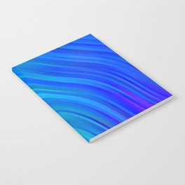 stripes wave pattern 1 stdv Notebook