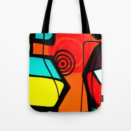 East London Abstract Tote Bag