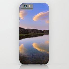 Virgin lagoons. At sunset.. Sierra Nevada National park. 3000 meters high iPhone Case