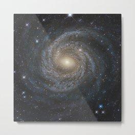 Hubble Space Telescope - A spiral snowflake Metal Print
