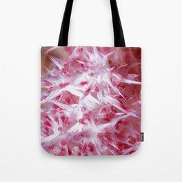 Pink Grasping Coral Tote Bag