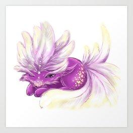 Cute little Fincy fox Art Print