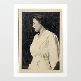 Nurse Bea Art Print