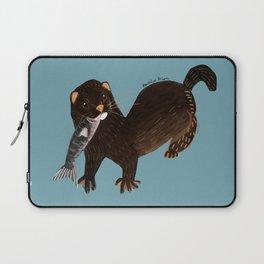 Clever Mink ( Neovison vison) Laptop Sleeve