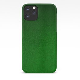Emerald Green Ombre Design iPhone Case