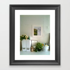 Spring blooms Framed Art Print