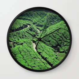 Tea Time 1 Wall Clock