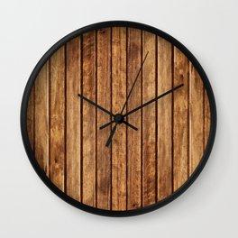 PLANKS Wall Clock