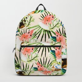 Pattern of tropical fruit and plants II Backpack