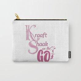 Kraaft Shaak on the GO! Carry-All Pouch