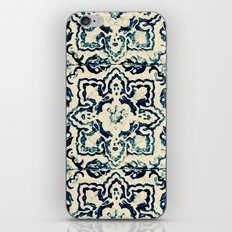 tile pattern - Portuguese azulejos iPhone & iPod Skin