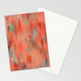 Coral Mirage Stationery Cards