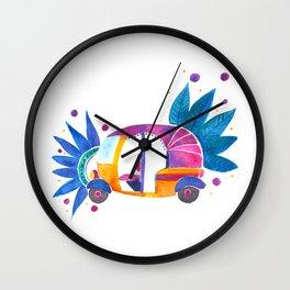 Groovy Rickshaw Wall Clock