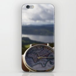 Time to Travel iPhone Skin