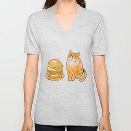 Blini Cat Meme Unisex V-Neck