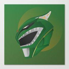 Green Ranger Redux Canvas Print