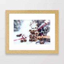 Christmas bakery Framed Art Print