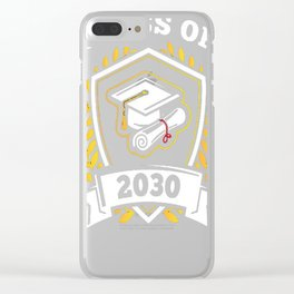 Class-of-2030---Class-of-2030-Graduation-T-Shirt Clear iPhone Case