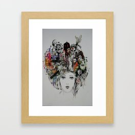 Positive Thoughts  Framed Art Print