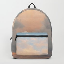 Colourful Sunset Clouds Backpack